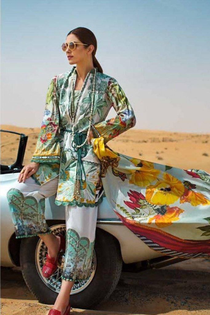 Crimson Secrets of Amazon Luxury Women's Lawn-CL-05 B