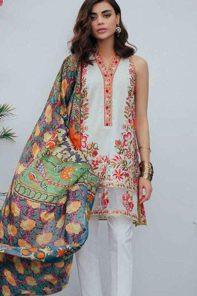 Zara Shahjahan Embroidered Lawn-NOOR B