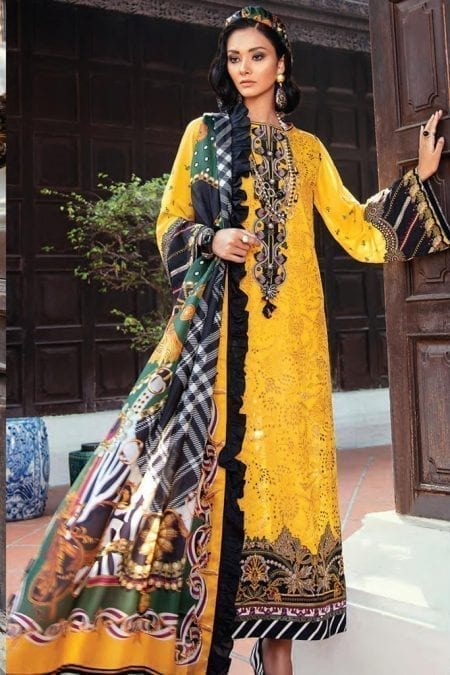 Baroque premium lawn eid collection 2020 bq20e 01 sweet fantasy 1