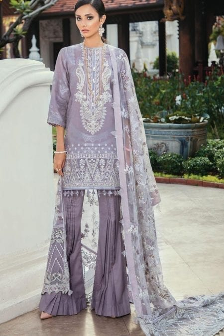 Baroque premium lawn eid collection 2020 bq20e 04 lilac mist 1