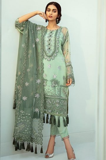 Janaan unstitched luxury chiffon collection 2020 by xenia formals xe20j 01 aysel 1