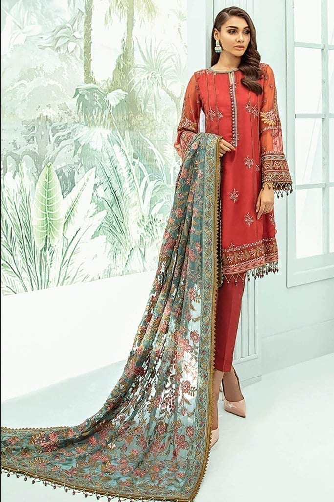 Janaan unstitched luxury chiffon collection 2020 by xenia formals xe20j 03 estira 1
