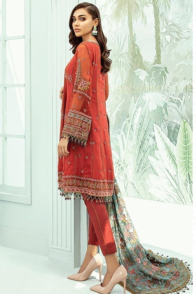 Janaan unstitched luxury chiffon collection 2020 by xenia formals xe20j 03 estira 2
