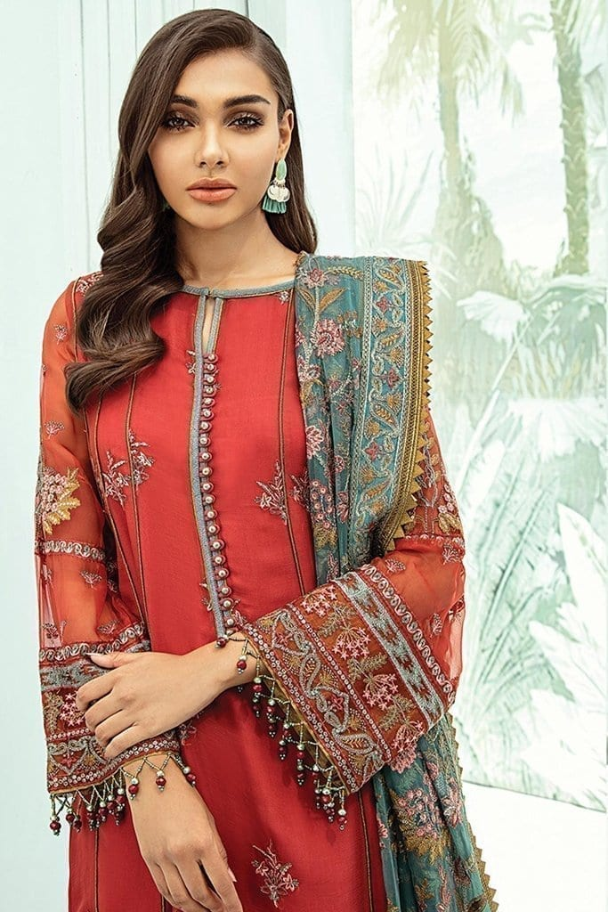 Janaan unstitched luxury chiffon collection 2020 by xenia formals xe20j 03 estira 3