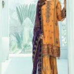 Janaan unstitched luxury chiffon collection 2020 by xenia formals xe20j 06 muge 1