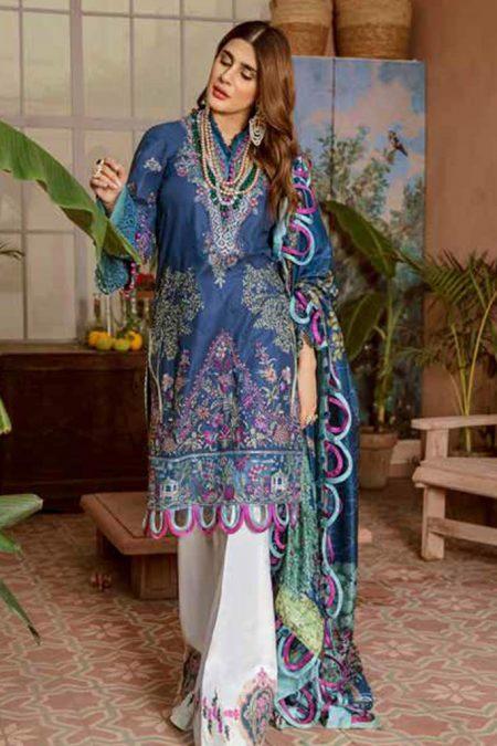 Maryam hussain festive lawn collection 2020 mrh20f d 01 falak 1