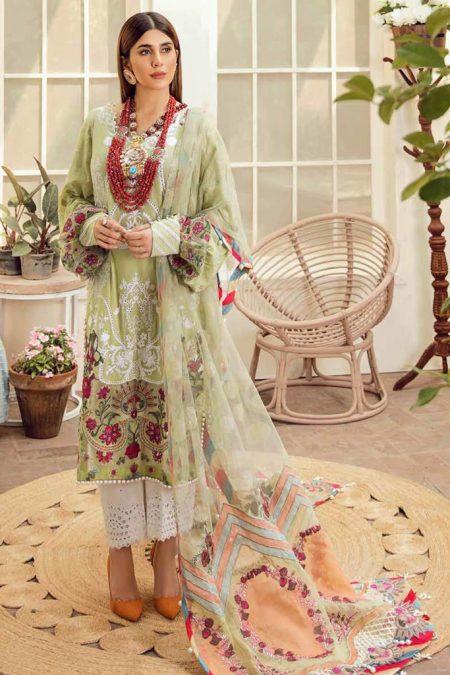 Maryam hussain festive lawn collection 2020 mrh20f d 03 olive garden 1