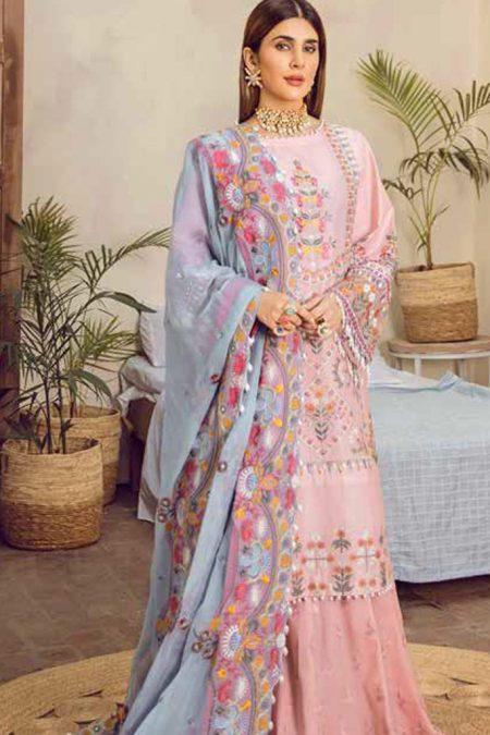 Maryam hussain festive lawn collection 2020 mrh20f d 04 dimpl 1