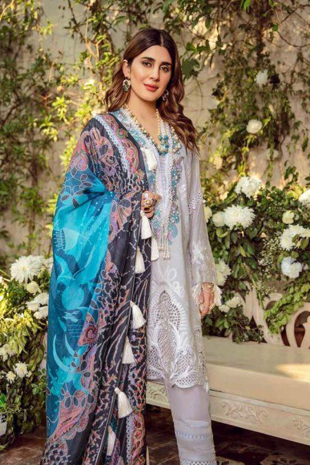 Maryam hussain festive lawn collection 2020 mrh20f d 09 noor 1