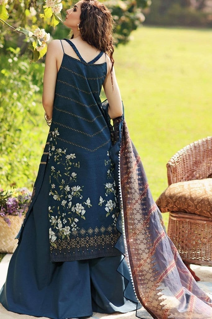Shiza hassan luxury lawn 2020 collection sh20l 1 a bliss 2