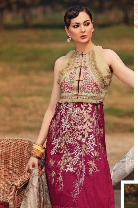 Shiza hassan luxury lawn 2020 collection sh20l 2 a secret garden 1