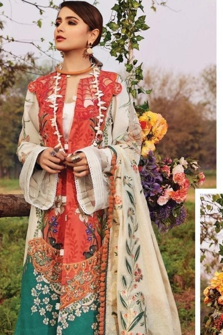 Shiza hassan luxury lawn 2020 collection sh20l 4 a lilly symphony 1
