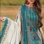 Shiza hassan luxury lawn 2020 collection sh20l 7 a soft spring 1