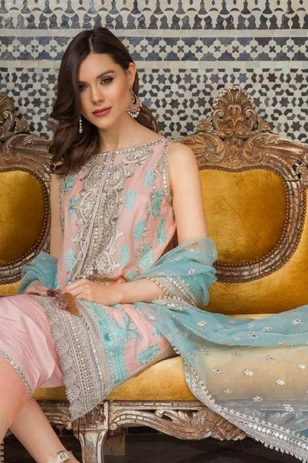 Sobia nazir luxury lawn 2020 collection l20sn 10 b peach 1