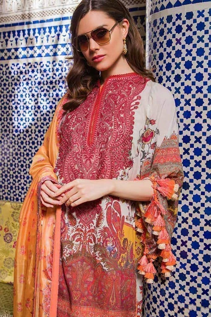 Sobia nazir luxury lawn 2020 collection l20sn 14 b yellow 2