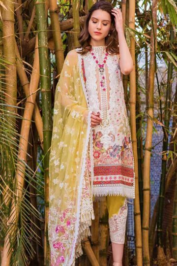 Sobia nazir luxury lawn 2020 collection l20sn 15 b greenish yellow 1