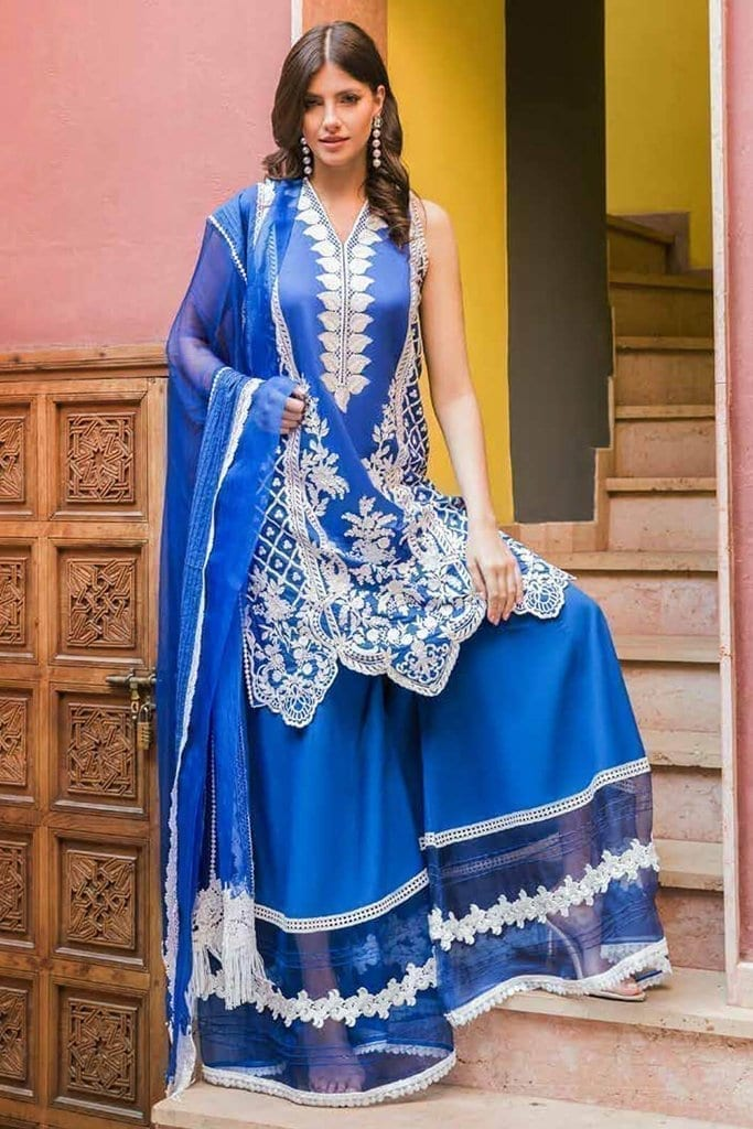 Sobia nazir luxury lawn 2020 collection l20sn 4 a royal blue 1