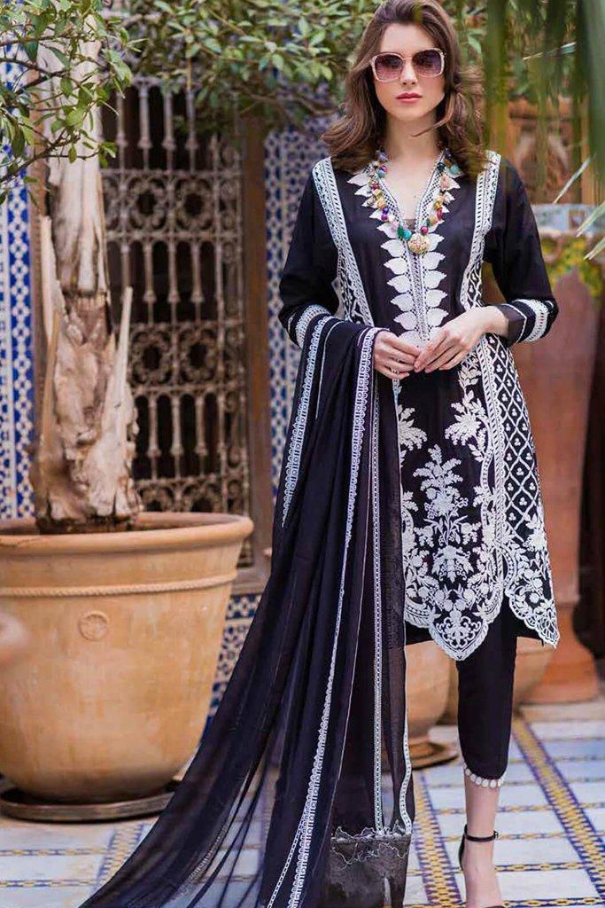 Sobia nazir luxury lawn 2020 collection l20sn 4 b black 1