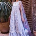 Sobia nazir luxury lawn 2020 collection l20sn 8 a light blue 2