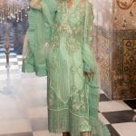 MUSHQ | Monsoon Affair Luxury STITCHED collection*20 | MINT MELODY