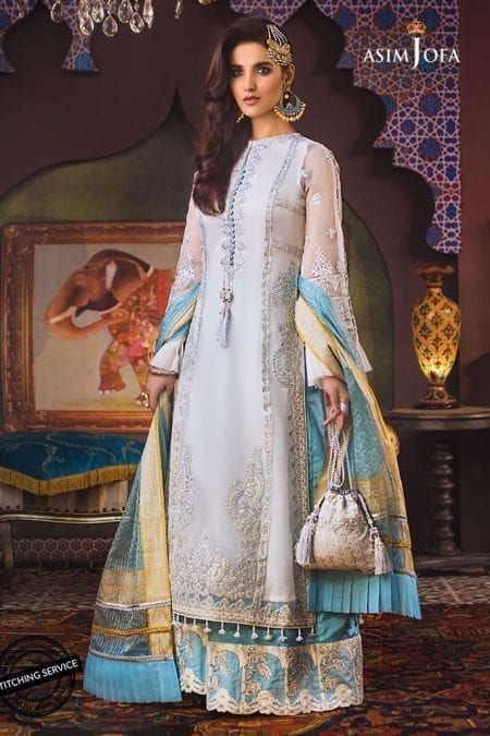 ASIM JOFA | FAROZAAN COLLECTION | STITCHED | AJF-04