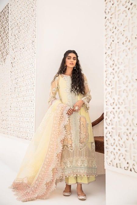 QALAMKAR | Stitched Luxury Formals`20 | D#7