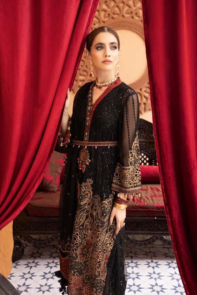 ADAN*S LIBAS   Mehfil Wedding Festive STITCHED   MAKHMAL