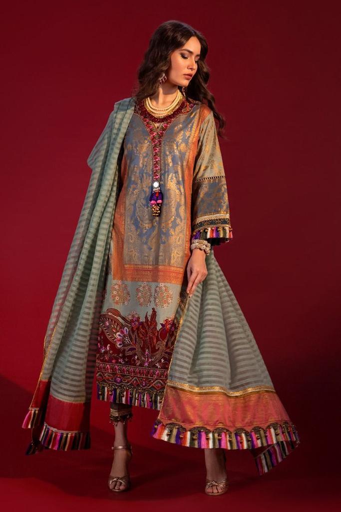 Sana Safinaz | KURNOOL'20 | Stitched | 4B