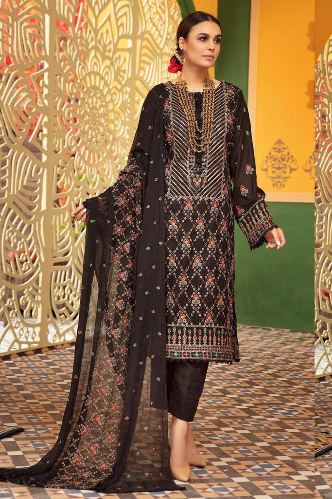 KHOOBSURAT   Luxury Karandi Stitched Collection*20   NC 08