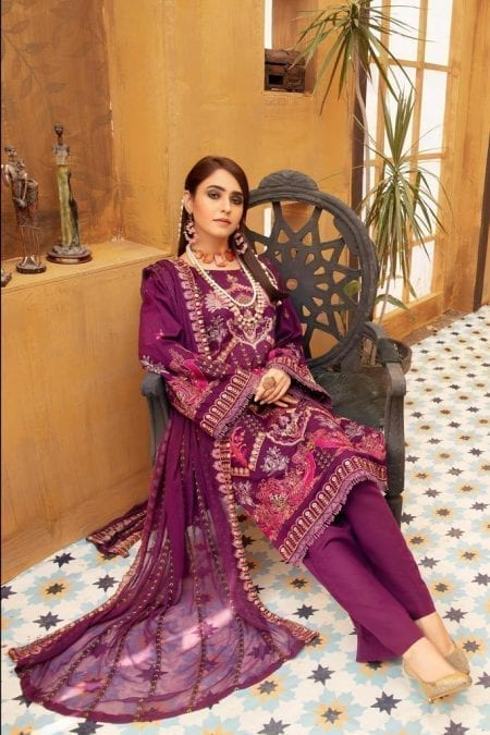 KHOOBSURAT | Luxury Karandi Stitched Collection*20 | NC 10