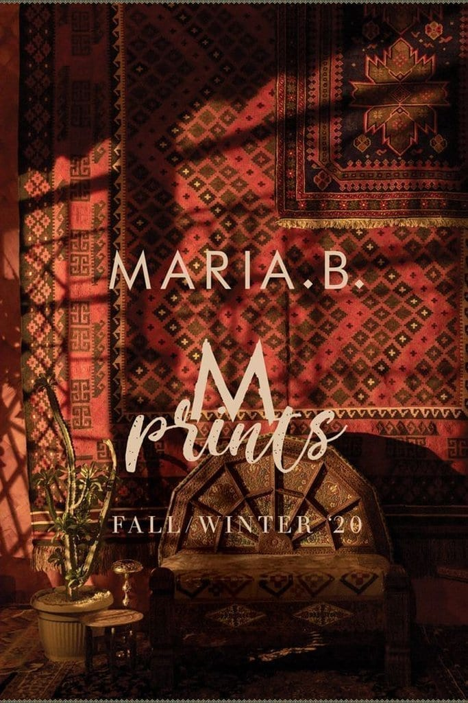 MARIA B /M.Prints Winter