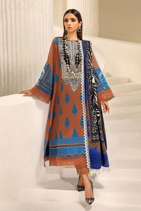 SANA SAFINAZ | Muzlin Winter'20 | M203-010B-CO