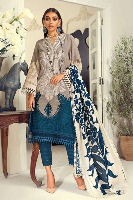 SANA SAFINAZ | Muzlin Winter'20 | M203-017B-CO