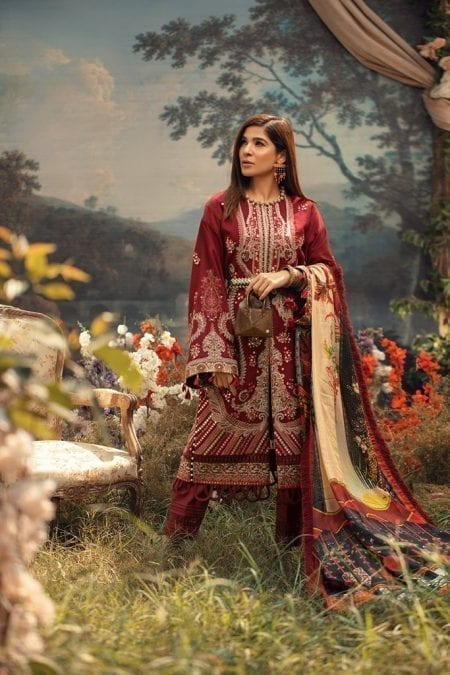 MARYAM HUSSAIN | WINTER SHAWL COLLECTION '20 | Fauna