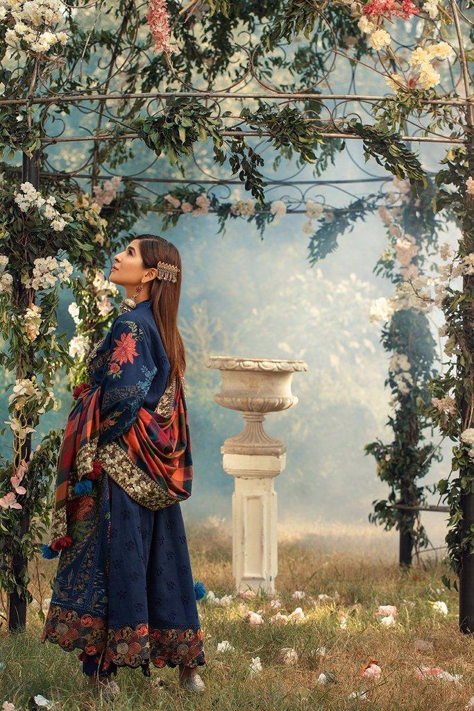 MARYAM HUSSAIN | WINTER SHAWL COLLECTION '20 | Marina