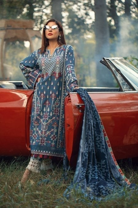 MARYAM HUSSAIN | WINTER SHAWL COLLECTION '20 | Tribal