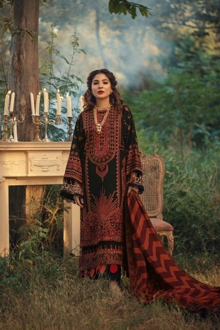 MARYAM HUSSAIN | WINTER SHAWL COLLECTION '20 | Napoli