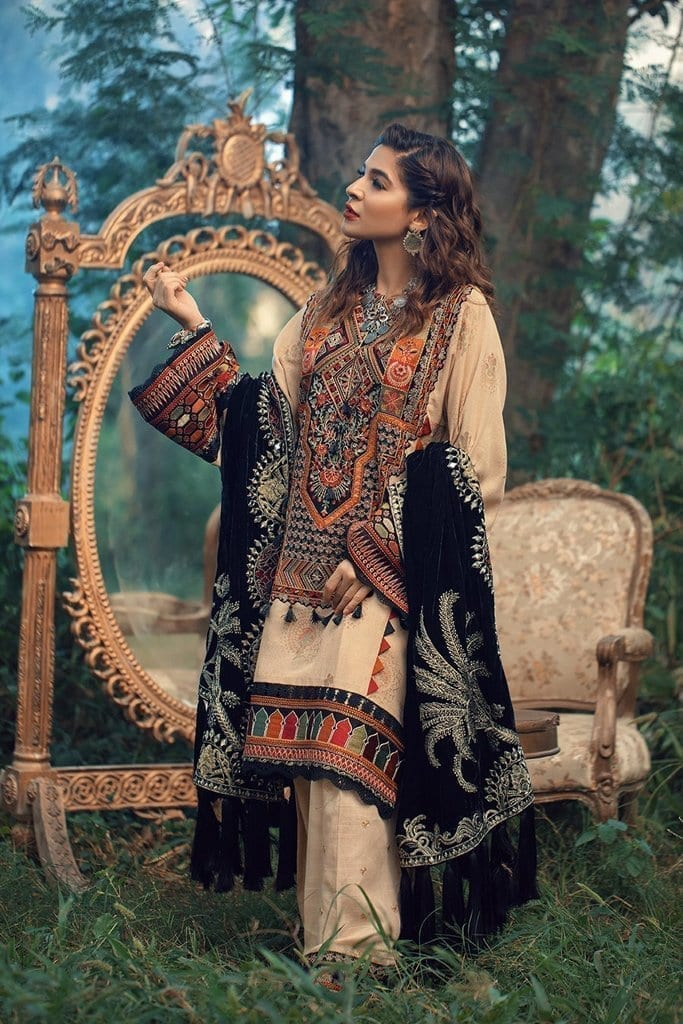 MARYAM HUSSAIN | WINTER SHAWL COLLECTION '20 | Eden
