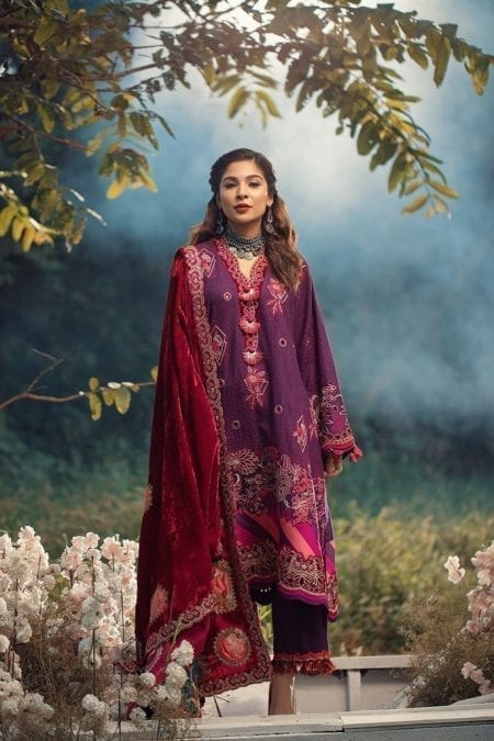 MARYAM HUSSAIN | WINTER SHAWL COLLECTION '20 | Capri