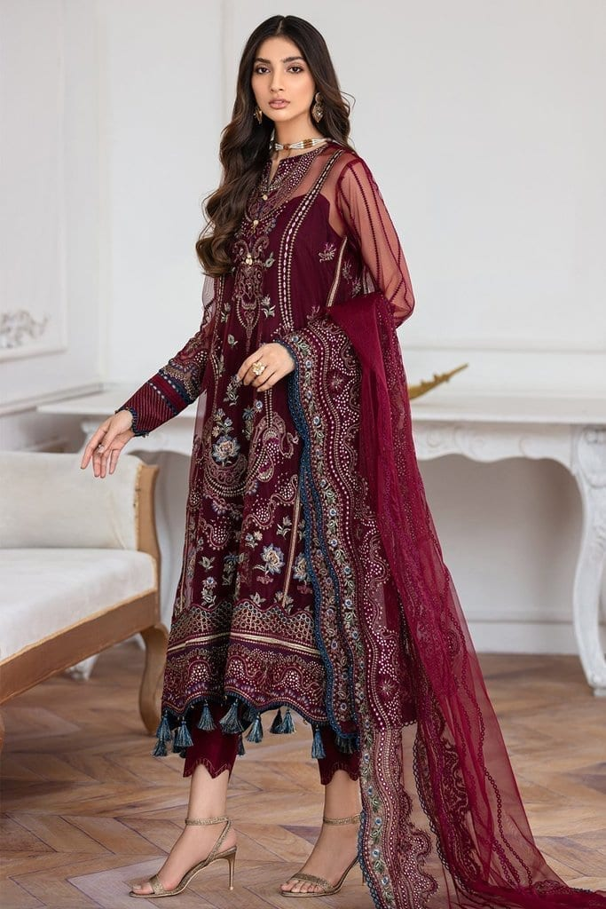 JAZMIN | Mahpare | Luxury Embroidered Stitched Collection | Soulmaz