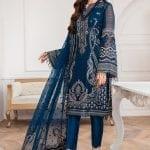 JAZMIN | Mahpare | Luxury Embroidered Stitched Collection | Kaavish