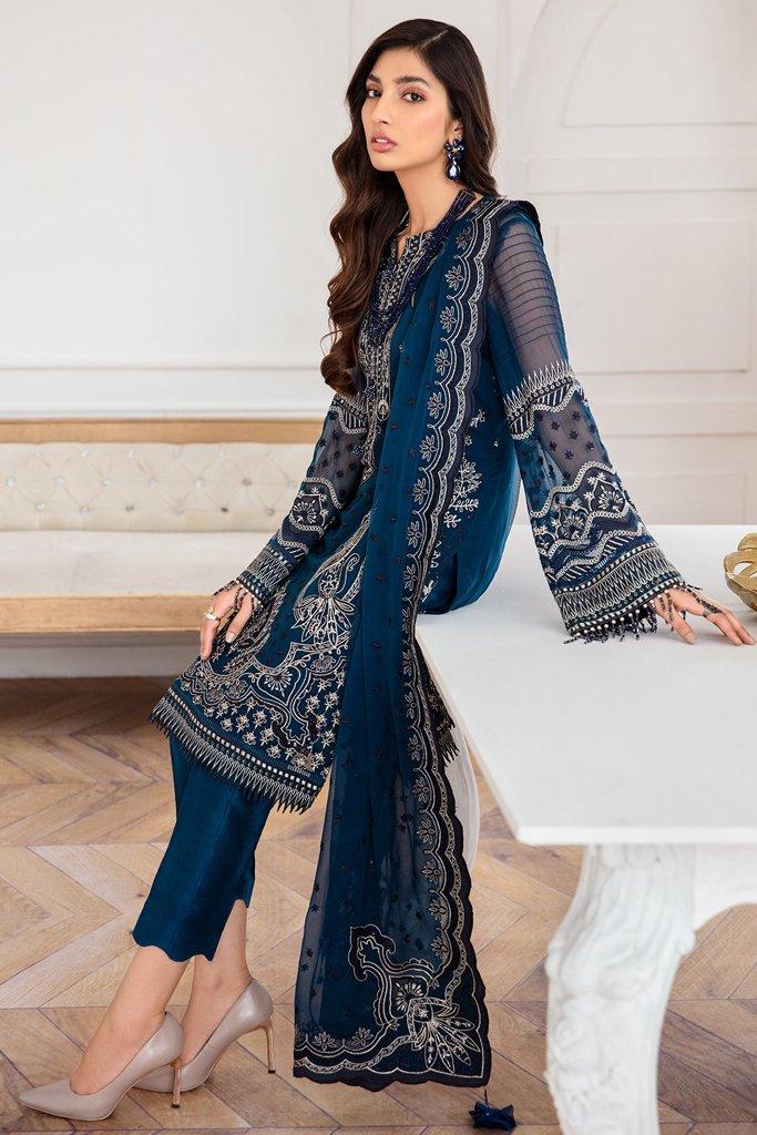 JAZMIN   Mahpare   Luxury Embroidered Stitched Collection   Kaavish