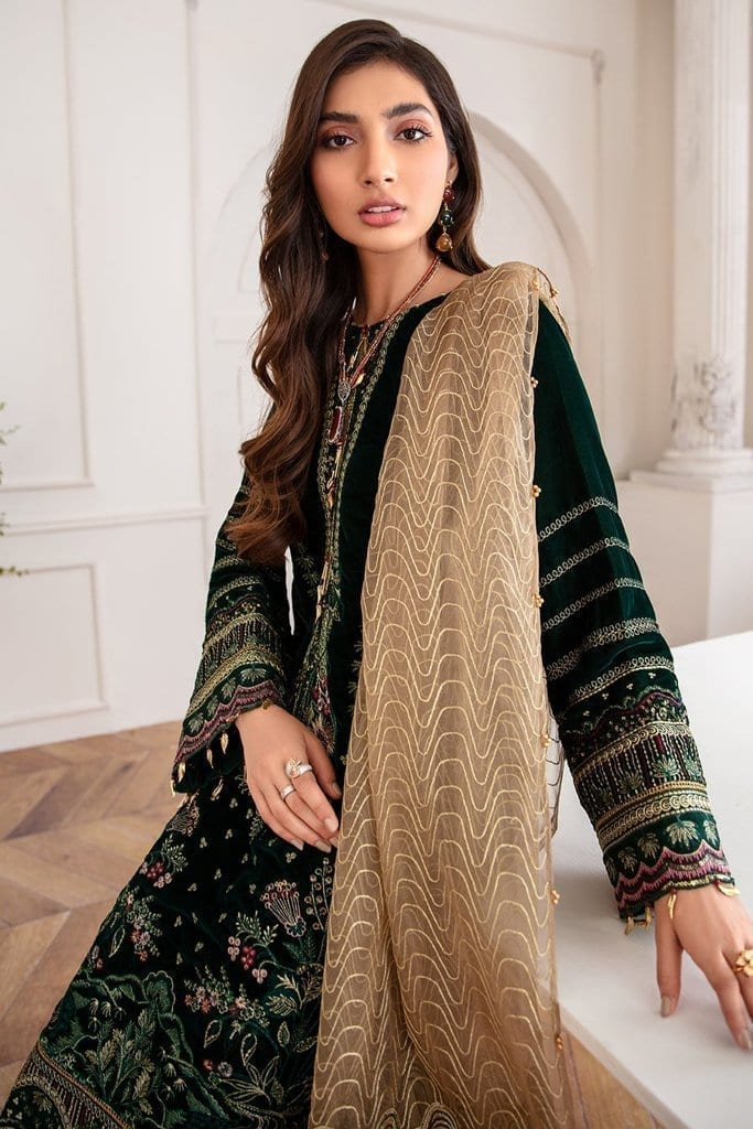 JAZMIN | Mahpare | Luxury Embroidered Stitched Collection | Mala