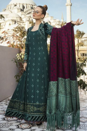 MARIA B | LINEN | WINTER*20 | DL-801-Sea Green