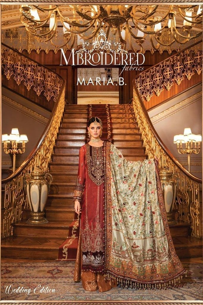 MARIA B-MBROIDERED COLLECTION