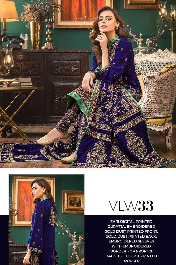 GUL AHMED | NOOR-E-CHASHAM | Velvet Collection