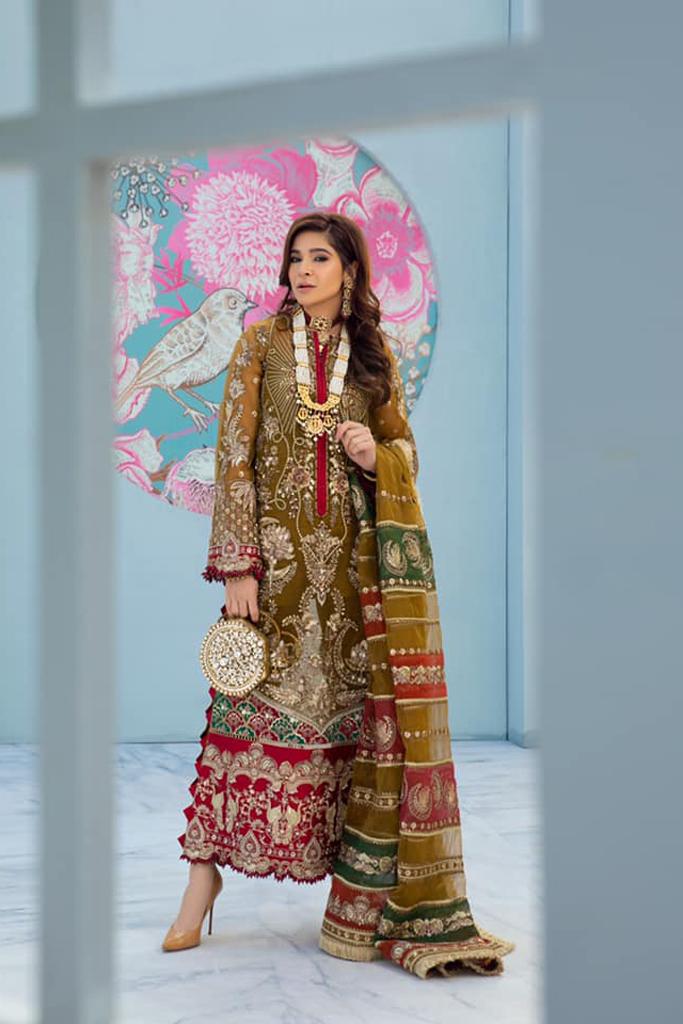Maryam Hussain | HINA | Wedding Collection