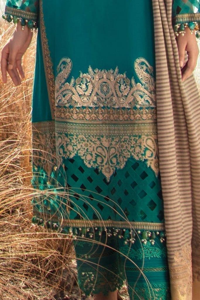 SANA SAFINAZ   SHAWL Collection   6B