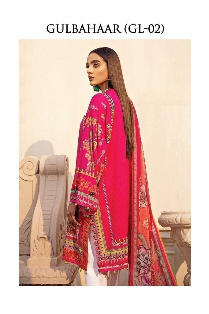 GULAAL | LAWN'21 Collection | VOL-1 | GL-02