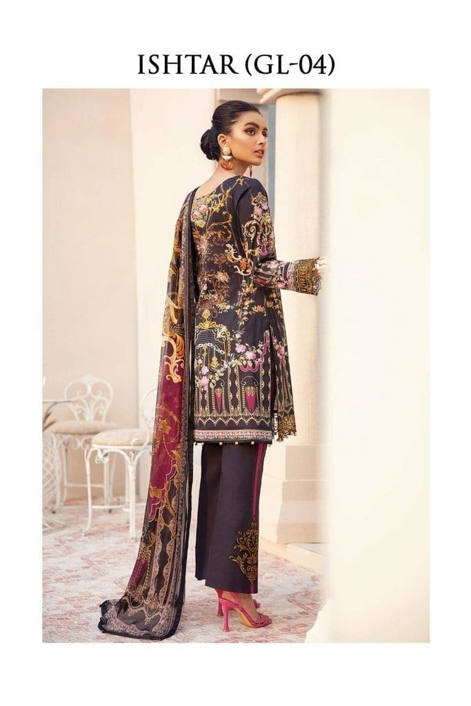 GULAAL   LAWN'21 Collection   VOL-1   GL-04